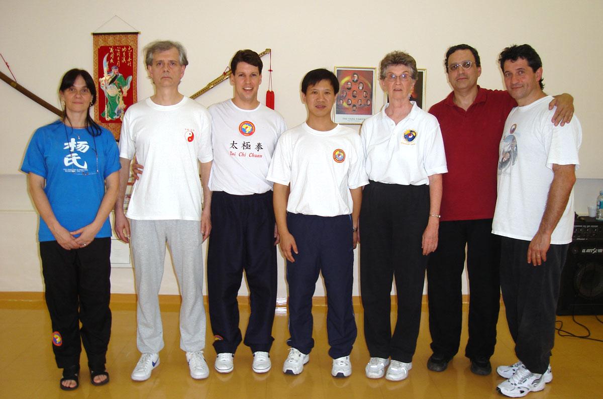 Mestre Yang Jun e Diretores de Centros Internacionais de Tai Chi Chuan