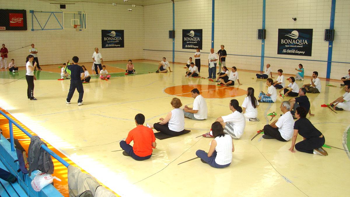 Seminário da Forma Sabre Tai Chi realizado na Academia RT