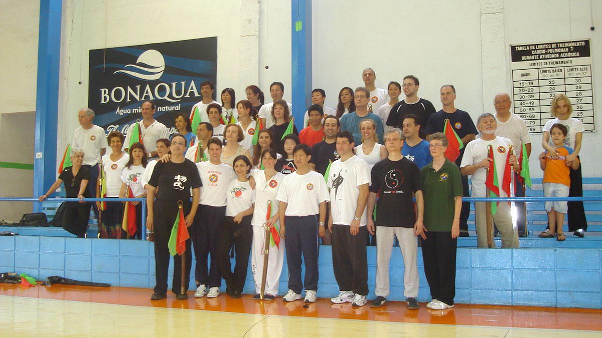 Participantes do Seminário da Forma Sabre Tai Chi