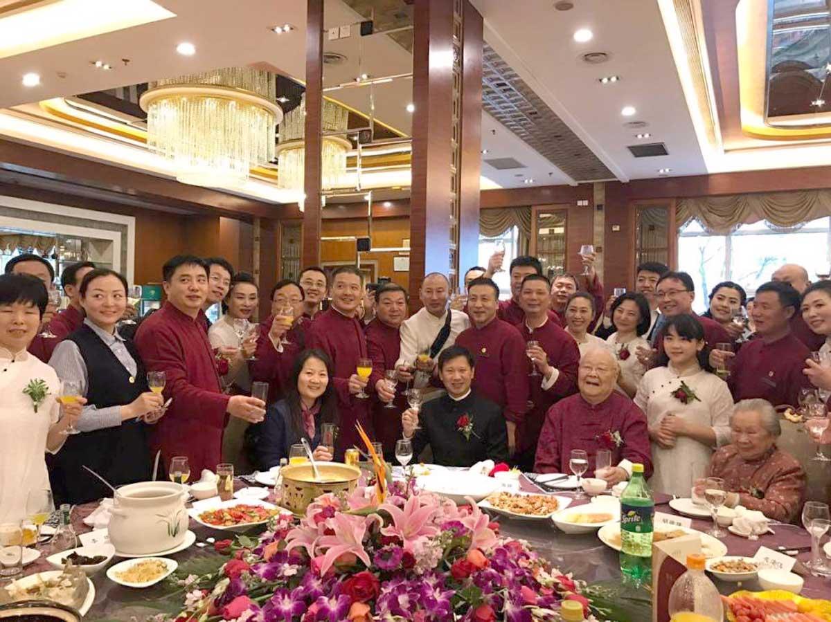 Almoço especial com os Mestres, discípulos e participantes do Evento