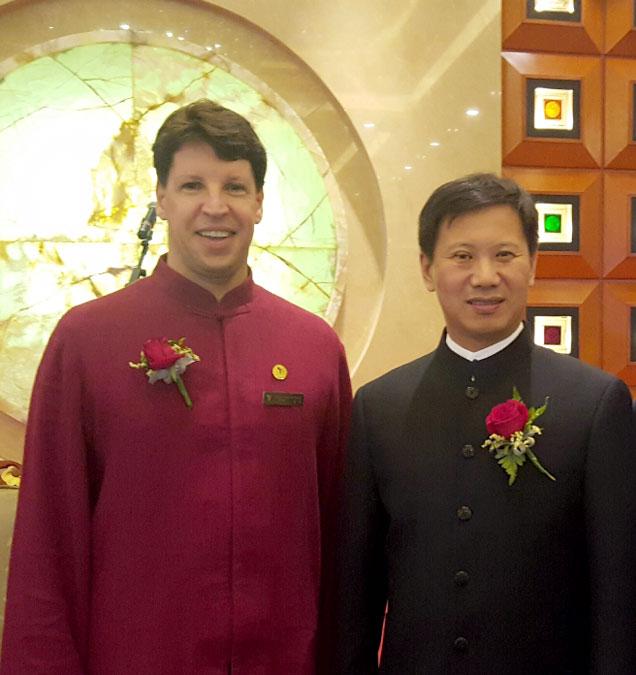 Prof. Fernando e Mestre Yang Jun