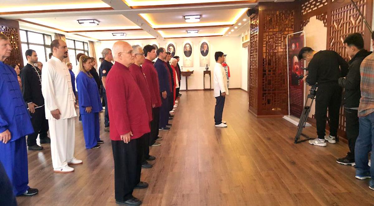 Aula Especial de Tai Chi Chuan com o Mestre Yang Jun na nova Sede da Associação