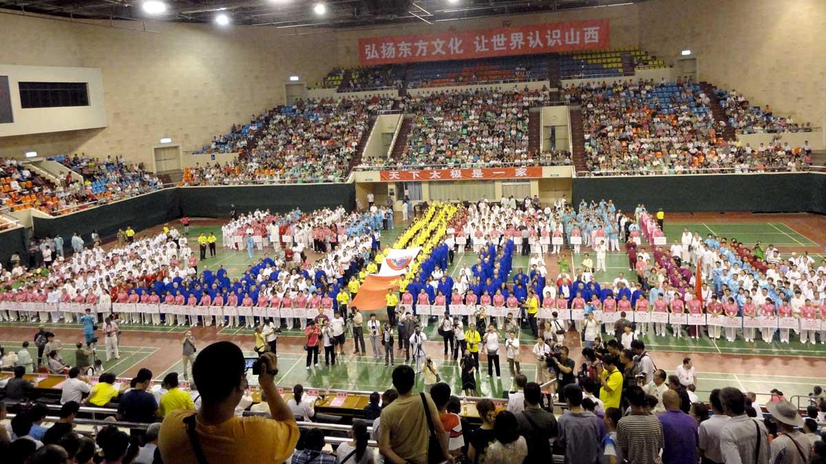Cerimônia de Abertura do 4º Torneio Internacional de Tai Chi Chuan da Família Yang - cidade de Taiyuan