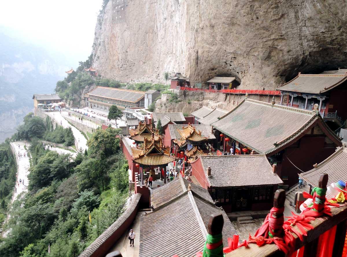 Visitamos Templos Budistas e Taoístas na Montanha Mianshan, na Província de Shanxi