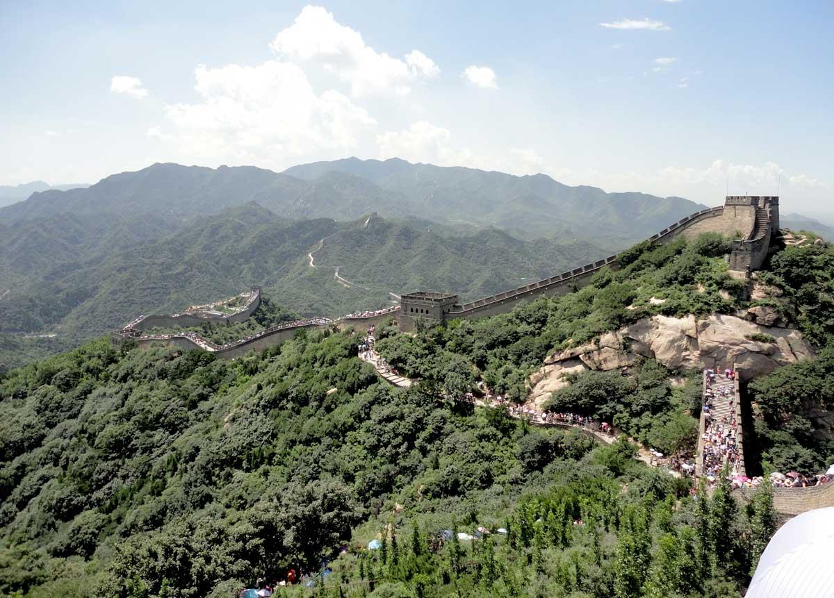 Grande Muralha perto de Beijing