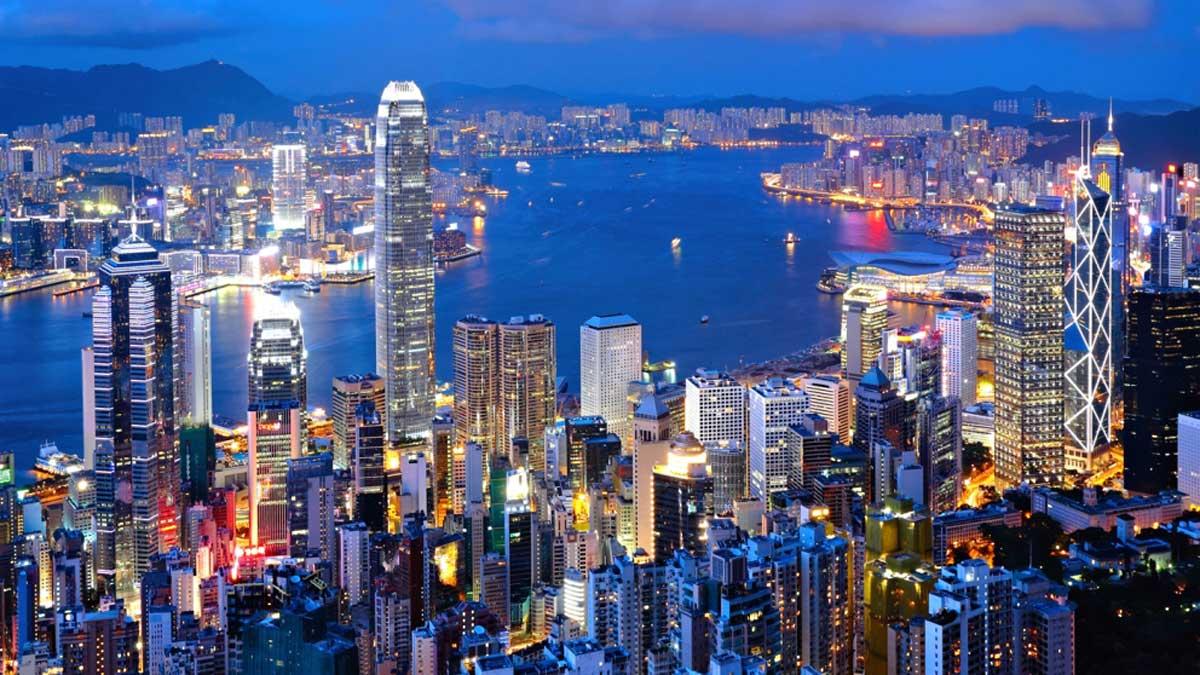 Chegada em Hong Kong onde ficamos 2 dias