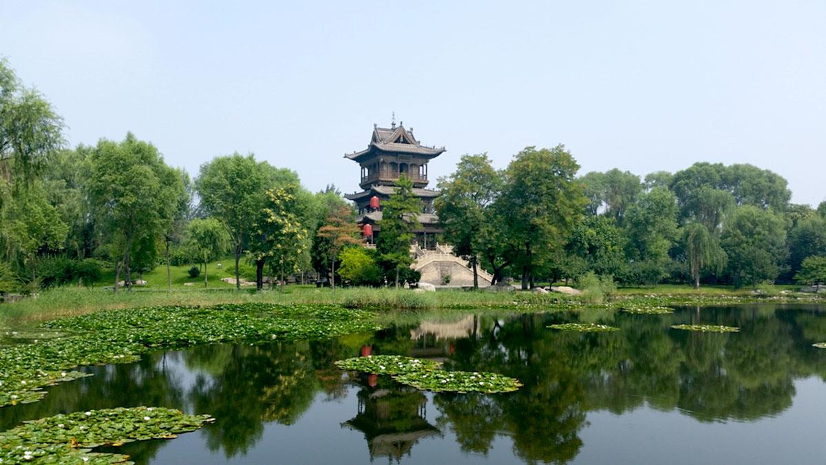 Visita ao vilarejo antigo e mansão da Família Chang na cidade de Taiyuan, capital da Província de Shanxi