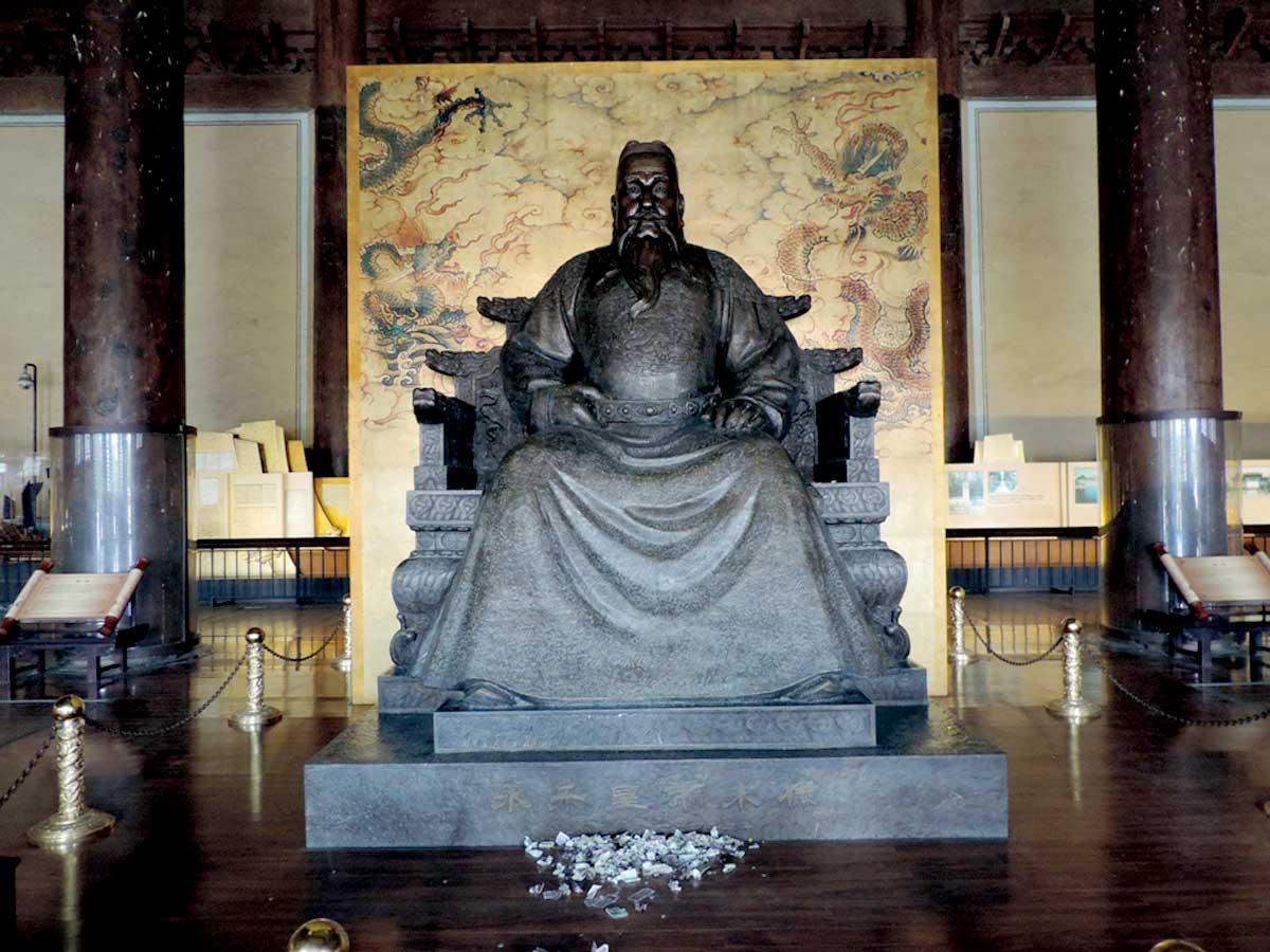 Um dos Imperadores da Dinastia Ming - Beijing, Província de Hebei