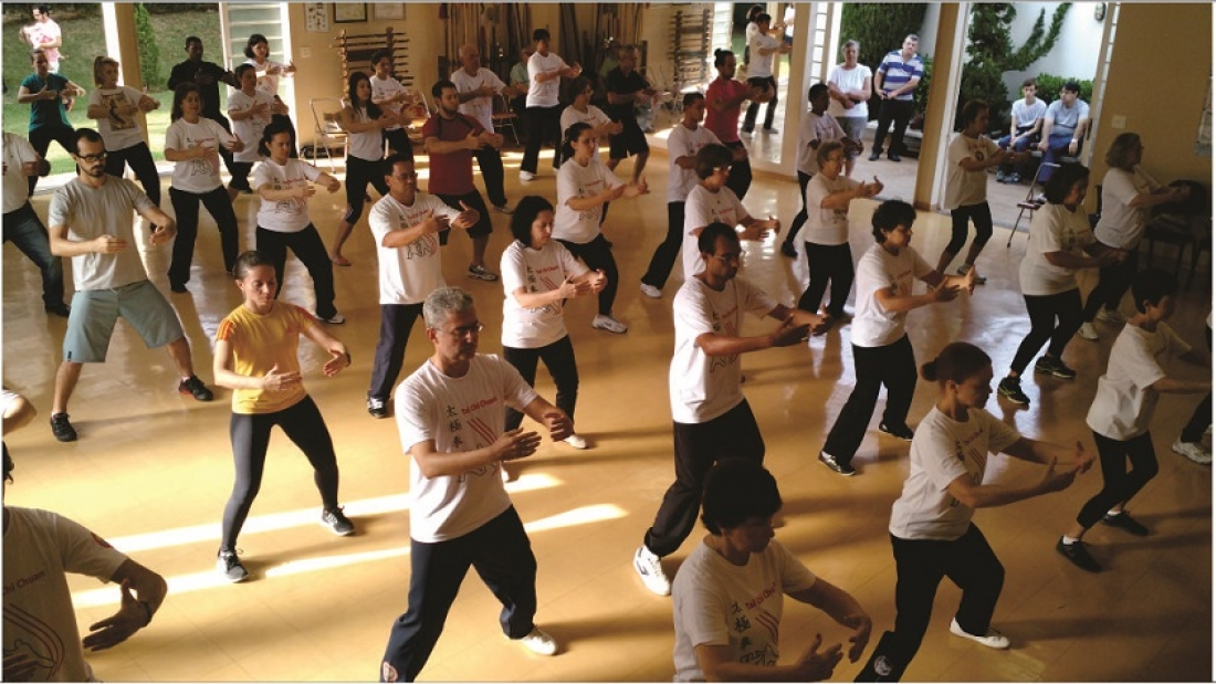 Dia Mundial do Tai Chi Chuan no EQUILIBRIUS