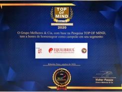 EQUILIBRIUS Premio Top of Mind